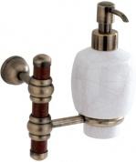 Подробнее о Дозатор для мыла Carbonari Silvia Anticata PSSI2 ANT BR подвесной античная бронза / керамика белая