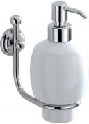 Подробнее о Дозатор для мыла Carbonari Teresa PSTE2 CR подвесной хром / керамика белая