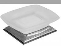 Подробнее о Мыльница Colombo Portofino  B3242 CR настольная хром /стекло матовое