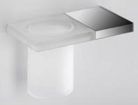 Подробнее о Стакан Colombo Domino B3402.ME/3452/3400 подвесной хром /стекло матовое
