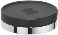 Подробнее о Мыльница Colombo Nordic B5240.0CR-CNO настольная хром / керамика черная