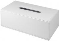 Подробнее о Контейнер Colombo Black&White  В9203 EPB для салфеток 25 х 14 см экокожа цвет белый