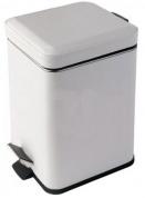 Подробнее о Ведро для мусора Colombo Black&White В9210 EPB с педалью (3л экокожа цвет белый