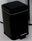 Подробнее о Ведро для мусора Colombo Black&White В9211 EPN с педалью (5 л экокожа цвет черный