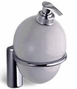 Подробнее о Дозатор для мыла Colombo Luna B9302.000 подвесной хром / стекло матовое