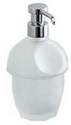 Подробнее о Дозатор для мыла Colombo Melo B9305.000 настольный хром / стекло матовое