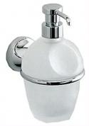 Подробнее о Дозатор для мыла Colombo Melo B9306.000 подвесной хром / стекло матовое