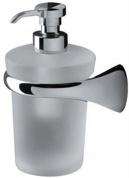 Подробнее о Дозатор для мыла Colombo Link B9310.000 DX подвесной (правый хром / стекло матовое