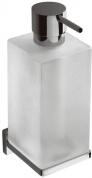 Подробнее о Дозатор для мыла Colombo Look B9316.000 подвесной хром / стекло матовое