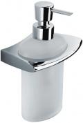 Подробнее о Дозатор для мыла Colombo Land B9318.000 подвесной хром / стекло матовое