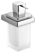 Подробнее о Дозатор для мыла Colombo Lulu B9321.000 подвесной хром / стекло матовое