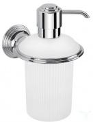 Подробнее о Дозатор для мыла Colombo Hermitage B9335.000 подвесной хром / стекло матовое