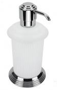 Подробнее о Дозатор для мыла Colombo Hermitage B9336.000 настольный хром / стекло матовое