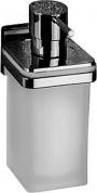 Подробнее о Дозатор для мыла Colombo Basic Q B9337 подвесной хром / стекло матовое