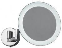 Подробнее о Зеркало косметическое Colombo Complementi B9751 настенное 20 х h35,5 cм c LED подсветкой хром