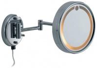 Подробнее о Зеркало косметическое Colombo Hotel Collection  B9966.000 настенное с подсветкой 21 х h21 cм хром