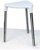 Подробнее о Стульчик Colombo Complementi В9988 BL хром / сиденье пластик белый