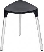 Подробнее о Стульчик Colombo Black&White В9988 EPB хром / сиденье экокожа цвет белый