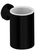Подробнее о Стакан Colombo Plus W4902.NM подвесной черный матовый / стекло матовое