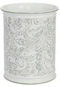 Подробнее о Корзина Creative Bath Beaumont BEA54MULT для мусора цвет белый с декором