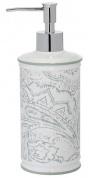 Подробнее о Дозатор Creative Bath Beaumont BEA59MULT настольный цвет белый с декором/хром