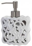Подробнее о Дозатор Creative Bath Belle BEL59WH настольный цвет белый/хром