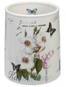 Подробнее о Корзина Creative Bath Botanical Dairy BTL54MULT для мусора цвет белый с декором