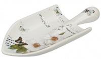 Подробнее о Мыльница Creative Bath Botanical Dairy BTL56MULT настольная цвет белый с декором