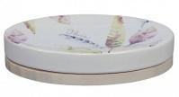 Подробнее о Мыльница Creative Bath Daydream DAY56MULT настольная цвет белый с декором