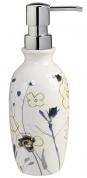 Подробнее о Дозатор Creative Bath Primavera PRI59WB настольный цвет белый с декором/хром