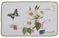 Подробнее о Коврик Creative Bath Botanical Dairy R1248MULT для ванны 81 х 53 см цвет белый с рисунком