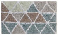 Подробнее о Коврик Creative Bath Triangles R1250NAT для ванны 81 х 53 см цвет мультиколор