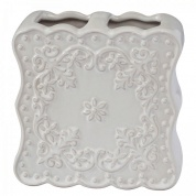 Подробнее о Стакан Creative Bath Ruffles RUF60WH настольный цвет серый