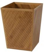 Подробнее о Корзина Creative Bath Spa Bamboo SBM54BR для мусора цвет коричневый/белый