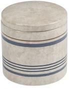 Подробнее о Контейнер Creative Bath Ticking Stripe TIC25BLU настольный цвет бежевый