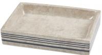 Подробнее о Мыльница Creative Bath Ticking Stripe TIC56BLU настольная цвет бежевый