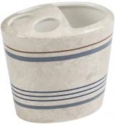 Подробнее о Стакан Creative Bath Ticking Stripe TIC60BLU настольный цвет бежевый