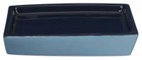 Подробнее о Мыльница Creative Bath Wavelength WVL56BLU настольная цвет синий/голубой