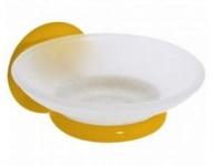 Подробнее о Мыльница Creavit Ducky BJ11022Y подвесная желтый/стекло
