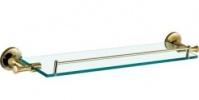 Подробнее о Полка Creavit Neo NO12021G (MA.NO12021G) стеклянная золото/стекло