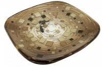 Подробнее о Мыльница Croscill Mosaic 6A0-004O0-1313-231 настольная цвет коричневый