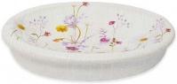 Подробнее о Мыльница Croscill Pressed Flowers 6A0-004O0-9928-990 настольная цвет белый