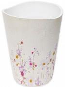 Подробнее о Корзина Croscill Pressed Flowers 6A0-005O0-9928-990 для мусора цвет белый