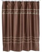 Подробнее о Шторка Croscill Mosaic 6A0-040O0-1313-231 для ванны цвет коричневый