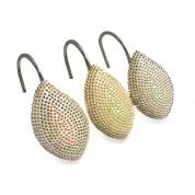 Подробнее о Набор крючков Croscill Mosaic Leaves 6A0-062O0-0086-990 для шторки (12 шт.) цвет мультиколор