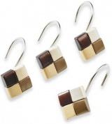 Подробнее о Набор крючков Croscill Mosaic 6A0-062O0-1313-231 для шторки (12 шт.) цвет коричневый