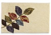 Подробнее о Коврик Croscill Mosaic Leaves 6A0-064O0-0086-990 для ванны 76 х 51 см цвет бежевый