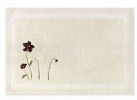 Подробнее о Коврик Croscill Pressed Flowers 6A0-064O0-9928-990 для ванны 76 х 51 см цвет белый