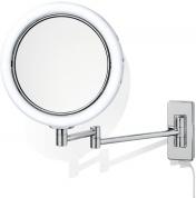 Подробнее о Зеркало косметическое Decor Walther 0118000 BS14/V настенное с подсветкой хром