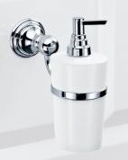 Подробнее о Дозатор для мыла Decor Walther Classic 0511500 CL WSP подвесной хром / фарфор